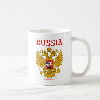 ГербРоссии RUSSLAND Wappen Kaffeetasse