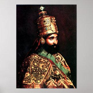 ቀዳማዊኃይለሥላሴ | Haile Selassie I Krönungs-Plakat Poster