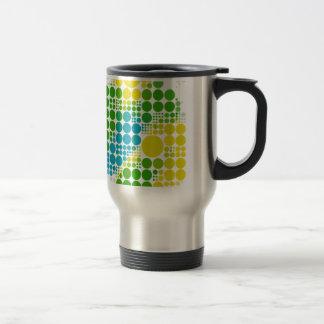 ブラジルカラー水玉 Brasilien-FarbTupfen Reisebecher