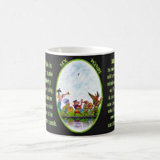 06. Sechs von Wands - Alice-Tarot Kaffeetasse