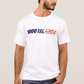 1000 Inseln USA T-Shirt