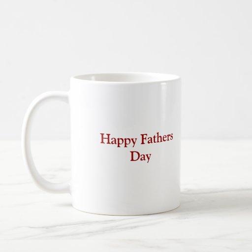 100_0818, glücklicher Vatertag Kaffee Tassen