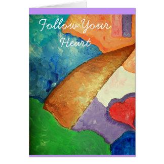 100_3052, folgen Ihrem Herzen Karte