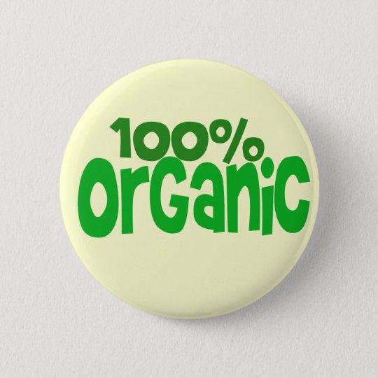 100% Bio Runder Button 5,1 Cm
