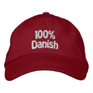 100% Dänische Bestickte Caps