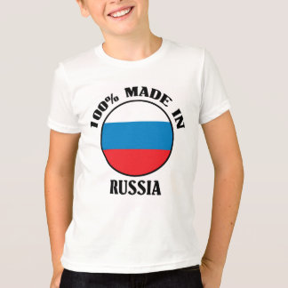 100% machten in Russland T-Shirt