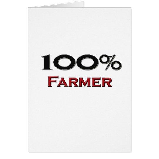 100 Prozent-Bauer Karte