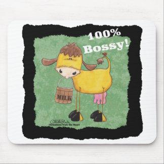 100 Prozent-Bossy Kuh Mauspads
