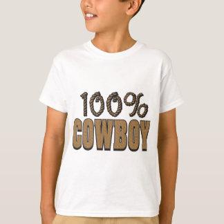 100 Prozent-Cowboy T-Shirt
