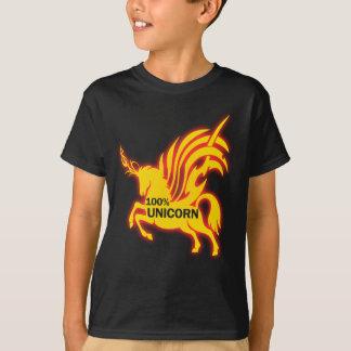 100 Prozent-Einhorn T-Shirt