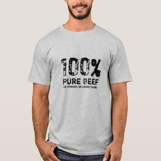 100% reines Rindfleisch T-Shirt