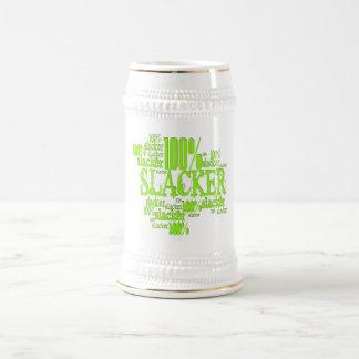 100% Slacker - Stein Bierkrug