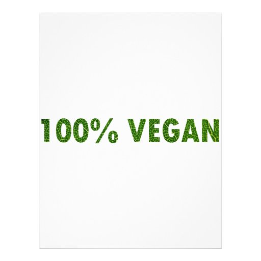 100% vegan flyerdruck