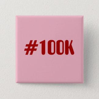 #100k quadratischer button 5,1 cm