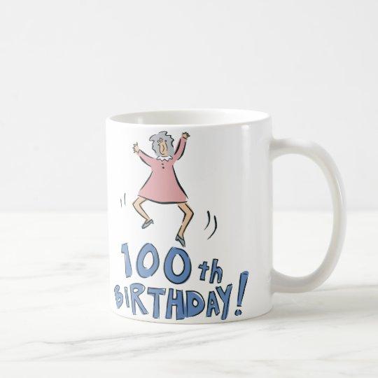 100th Geburtstag! Kaffeetasse