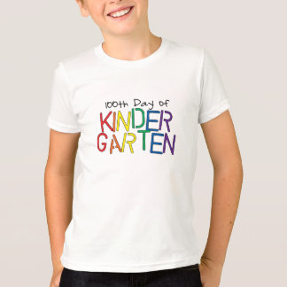 100th Tag des Kindergartens T-Shirt
