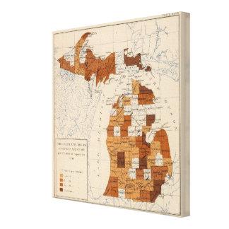 106 Diphtherie, Croup Michigan Gespannte Galeriedrucke