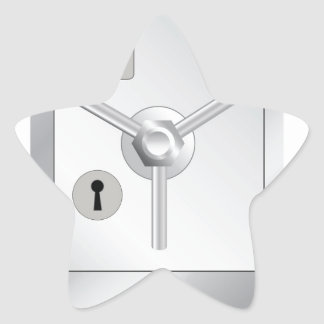 108Metal Safe_rasterized Stern-Aufkleber