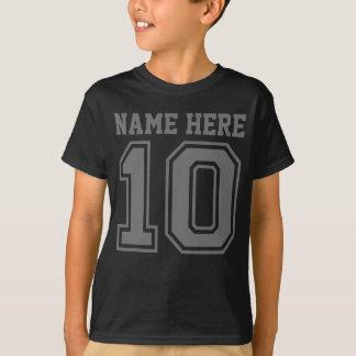 10. Geburtstag (der Name des kundengerechtes T-Shirt