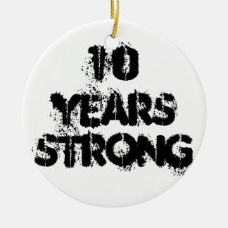 10 Jahre starke Erholungs-Verzierungs- Keramik Ornament