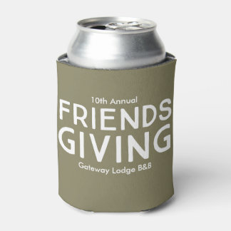 """10. jährliches Friendsgiving"" CustomizableCan"