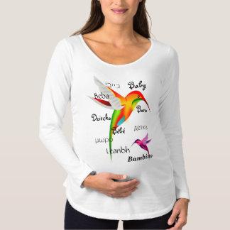10 Möglichkeiten, Baby zu sagen Schwangerschafts T-Shirt