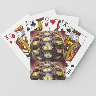 10. Muster; Schildkröte-Höhepunkte Spielkarten