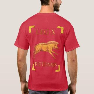 10 römischer Legio X Fretensis Vexillum T - Shirt