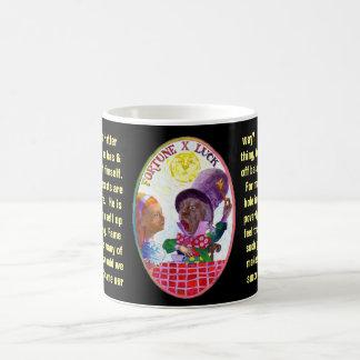10. Vermögen - Alice-Tarot Kaffeetasse