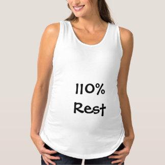 110% Erholungs-Mutterschafts-Behälter Umstandstanktop