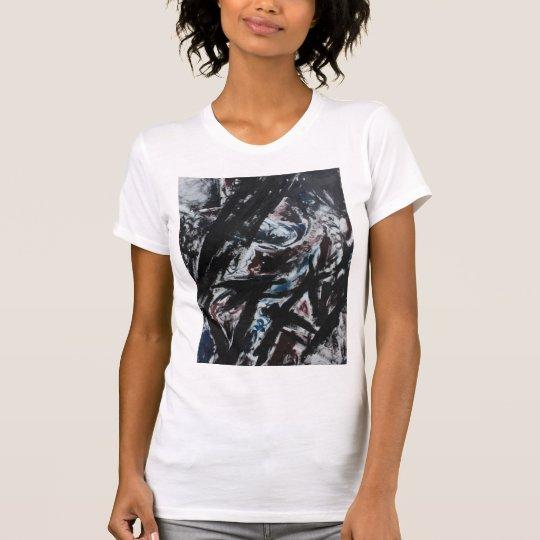 116 - Das übergroße T-Stück der Frauen T-Shirt