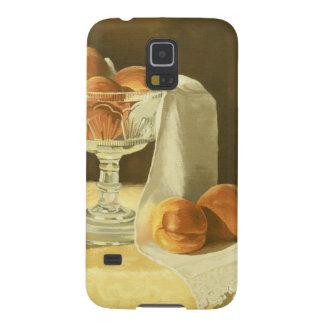 1181 Pfirsiche im Glaskompott Galaxy S5 Hülle