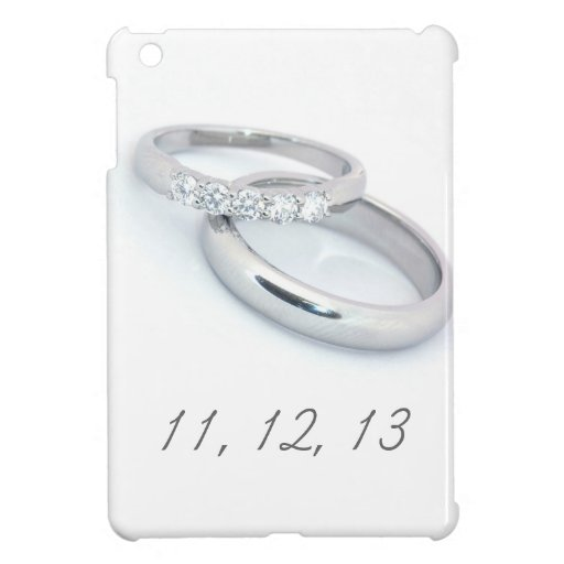 11,12.13 Save the Date iPad Mini Cover