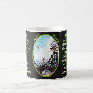 11. Seite von Wands - Alice-Tarot Kaffeetasse