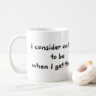 11oz. Kaffee-Tasse mit Zitat Tasse