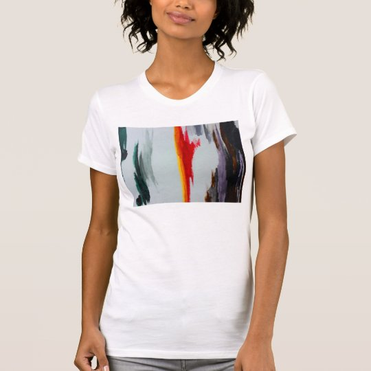 123 - Das übergroße T-Stück der Frauen T-Shirt