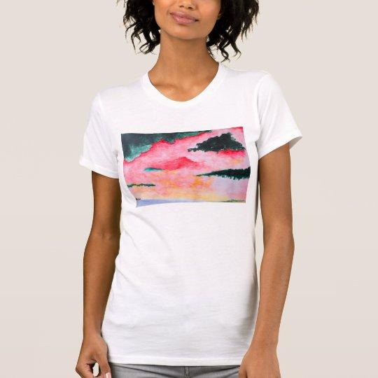 124 - Das übergroße T-Stück der Frauen T-Shirt