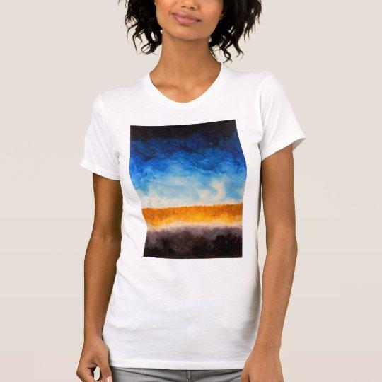 127 - Das übergroße T-Stück der Frauen T-Shirt