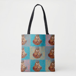 129 - Designer-Taschentasche mit Leuchtern Tasche
