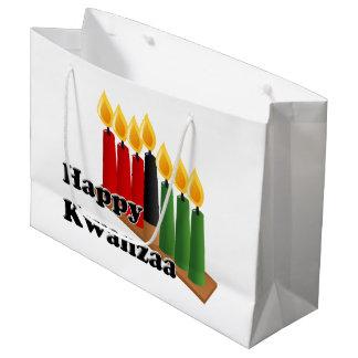 12-26 glückliches Kwanzaa Große Geschenktüte