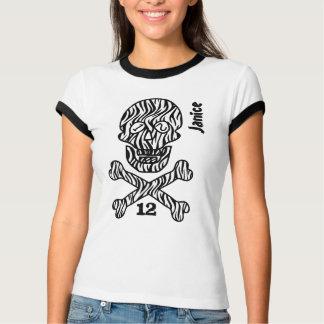 12. Geburtstags-Totenkopf mit gekreuzter Knochen T-Shirt