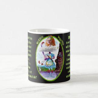 12. Königin von Wands - Alice-Tarot Kaffeetasse