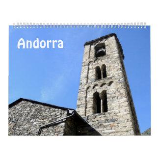 12 Monat AndorraFoto-Kalender 2017 Kalender