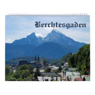 12 Monat Berchtesgaden Foto-Kalender Kalender