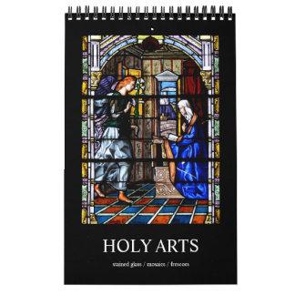 12 Monat heiliger Kunst-Foto-Kalender Kalender