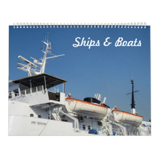 12 Monat Schiffs-u. Boots-Foto-Kalender Kalender
