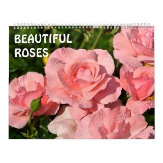 12 Monat schöne Rosen Abreißkalender