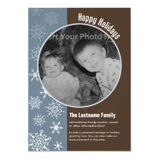 12x18 doppelseitige Feiertags-Foto-Karte 12,7 X 17,8 Cm Einladungskarte