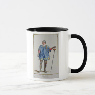 (1332-1407) Polizist Olivier de Clisson Frankreich Tasse