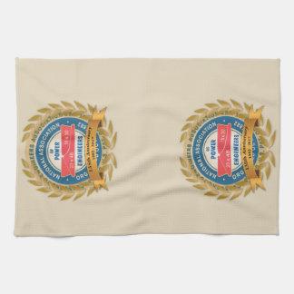 135th Jahrestags-Tuch Handtuch